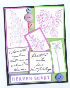 Heaven Scent Index by galleryindex - Cards and Paper Crafts at Splitcoaststampers