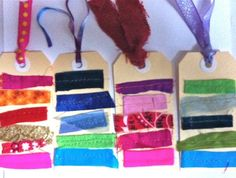 Fun Stitched Gift Tags