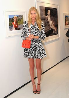 7/22/14 - Elsa Hosk at the 'Marilyn: The Lost Photos of a Hollywood Star' Exhibit Opening in NYC.