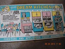 1960's Deluxe Reading Barbie Dream Kitchen..Great Condition, Box / Instructions