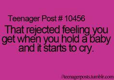Worst feeling EVER!! lol
