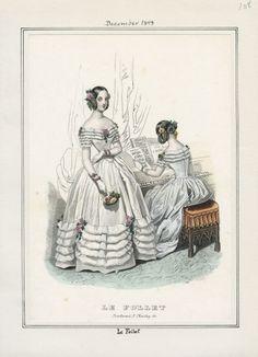 Le Follet Dezember 1843