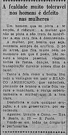 Bizarre advertising in 1922
