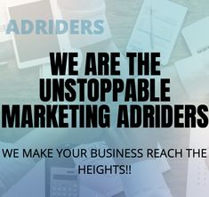We are the unstoppable marketing AdRiders. We promise what we say and we know what we are doing. Let us solve your issues and build a profitable business you love! Visit our website to view more of our services. In The Heights, Digital Marketing, Website, Sayings, Business, Lyrics, Store, Business Illustration, Quotations