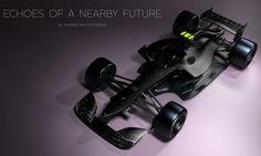 Formula 1 concept cars by Andries van Overbeeke. Photo by Andries van Overbeeke on June 2015 at Design Concepts. Red Bull F1, Red Bull Racing, Ferrari, Honda, Porsche Taycan, F1 2017, Auto Motor Sport, Cinema Camera, Formula 1 Car