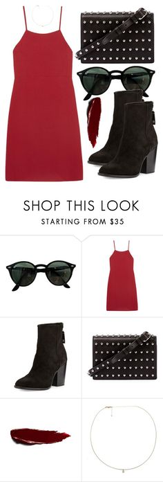 """Sem título #5539"" by beatrizvilar on Polyvore featuring moda, Ray-Ban, Reformation, rag & bone, Alexander Wang e Loren Stewart"