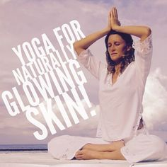 Put away all those bottles of skin cream and try yoga for some naturally glowing skin! Find out how at www.artofliving.org/in-en/yoga/health-and-wellness/yoga-for-glowing-skin/variant