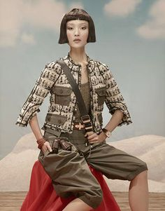 Du Juan (China Vogue April 2010)