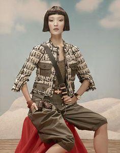 Du Juan (China Vogue April 2010)