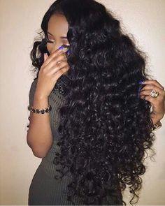 Pretty Beautiful Long hari. Quality guaranteed. #ywigs #cheapfulllacehumanhairwigs #bestlacefrontwigs #curlybrazilianhair cheap full lace human hair wigs best lace front wigs curly brazilian hair