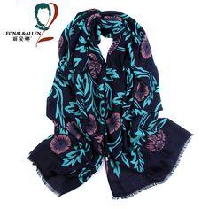 fa1db894440 sun-flower printed cotton scarf shawl