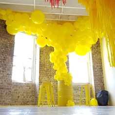 Sleepover Party, Host A Party, Qualatex Balloons, Ballon Decorations, Yellow Balloons, Balloon Garland, Event Decor, Party Time, Girly