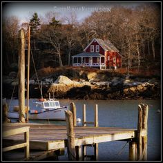 12-2-2014 Harbor House ~ My dream house. New Harbor, Maine.  *** POSTCARDS FROM FRIENDSHIP. A pic a day served fresh daily from Friendship Maine. SuperHumanNaturals.com *** #toothsoap #cure #cankersores