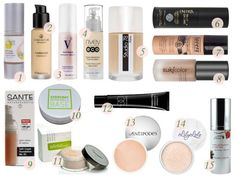 Natural Organic Foundation best list yet. As well as the blog