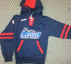 Custom hoodie for Lavonia Lancers @GitchSW Facebook - Gitch Sportswear