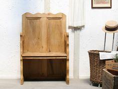 Chair イギリスアンティークオールドパインチャーチベンチ椅子G 408 インテリア 雑貨 家具 Antique ¥48000yen 〆07月25日