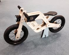 Wooden Bike Woodworking Plans Wooden Balance Bike By Boris Beaulant At Lumberjockscom, This Might Be A Christmas Gift For You Know Who Stuff That, Walnut Wood Triathlon Bicycle Frame 9 Steps With Pictures, Wooden Bicycle, Wood Bike, Modern Kids Toys, 24 Bike, Kids Motor, Making Wooden Toys, Push Bikes, Balance Bike, Kids Bike