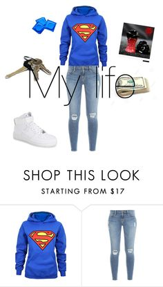 """""""Untitled #2"""" by julig14 ❤ liked on Polyvore featuring interior, interiors, interior design, home, home decor, interior decorating, Frame Denim, NIKE and Avon"""