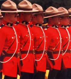 The RCMP - Royal Canadian Mounted Police