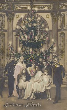 The Romanian Royal Family - Merry Christmas! Victorian Life, Victorian Christmas, Vintage Christmas, Merry Christmas, Romanian Royal Family, Greek Royal Family, History Of Romania, English Monarchs, Sequencing Pictures