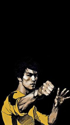 Chinese Martial Arts Bruce Lee - The iPhone Wallpapers