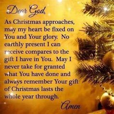 Wisdom Quotes added a new photo — with Herminia Namuag Fongtong and 31 others. Christmas Prayer, Christmas Blessings, Christmas Quotes, Merry Christmas, Christmas Time, Christmas Scripture, Christmas Program, Christmas Messages, Pink Christmas