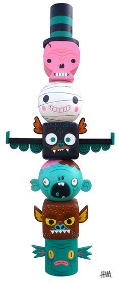 GHam Monster Toytem 1