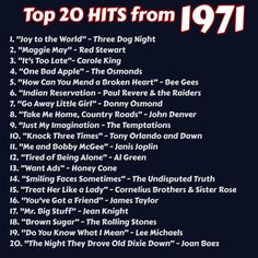 Music Hits, Music Songs, I Love Music, My Music, Top 20 Hits, Throwback Songs, 1970s Music, The Osmonds, Workout Music
