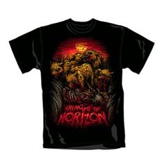 Bring Me The Horizon Cheetah Mens Tee - Show your wild side with this cheetah Bring Me the Horizon men's T-Shirt.