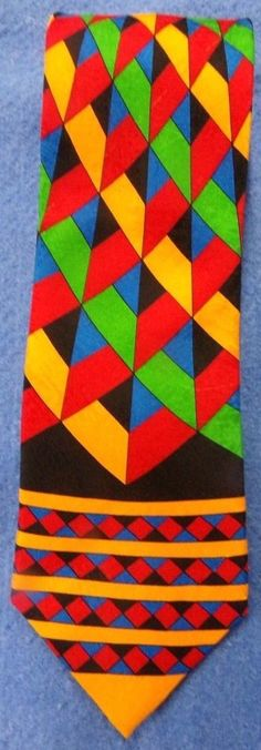 RUSH LIMBAUGH No Boundaries gorgeous 100% silk hand made men's neck tie. #RushLimbaugh #NeckTie #NoBoundries #mensfashion #eBay