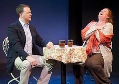 """""""Man the Torpedoes"""" with Matt Neely and Peggy Pharr Wilson. Photo by Kevin Sprague."""
