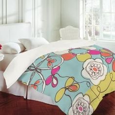 DENY Designs Home Accessories | Rachael Taylor Fun Floral Duvet Cover
