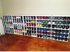 Ideas for Sneaker Storage storage ideas display Ideas for Sneaker Storage storage ideas shelves storage ideas diy Sneaker Rack, Sneaker Storage, Shoe Storage, Storage Organization, Storage Ideas, Shoe Wall, Shoe Room, Shoe Closet, The Doors