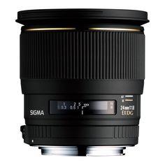 Sigma Wide Angle 24mm f/1.8 EX Aspherical DG D Macro Autofocus Lens for Sony Alpha and Minolta Maxxum