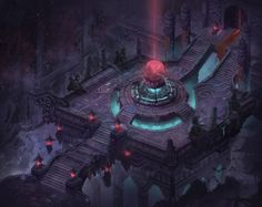 ArtStation - none, cheng zhengqing Game Environment, Environment Concept, Environment Design, Gothic Buildings, Medieval Gothic, Modeling Techniques, Low Poly Models, Game Concept Art, Crawl