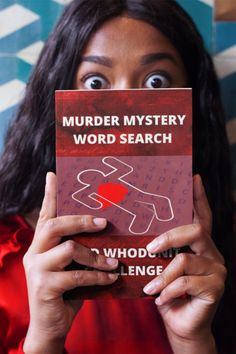 Created by a murder mystery fan, this Murder Mystery Word Search and Whodunit Challenge Puzzle Book provides a brilliant way for fellow murder mystery lovers to keep their minds fit and active. #MurderMysteryWordSearch #WhodunitPuzzle #MurderMysteryPuzzleBook Forensic Psychology, Puzzle Books, Forensics, Word Search, Mystery, Challenges, Mindfulness, Lovers, Fan