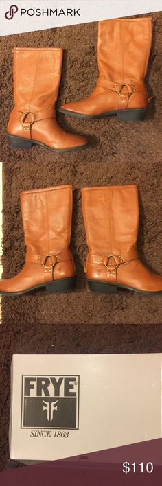 Big Girl Frye Boots. Only worn once Excellent condition with no visible signs of stains or flaws. Frye Shoes Boots