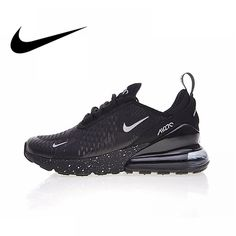 f48a45a0119d Original Authentic Nike Air Max 270 Men s Running Shoes Sports Outdoor  Sneakers Breathable Comfortable Light Running