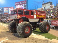 Firedrill Monster Truck