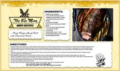 Happy Friday!  This yummy recipe from Bon Appetit serves 12.  Enjoy!