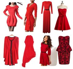 red-holiday-dresses
