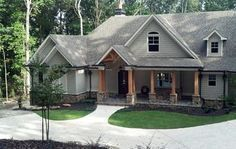 Plan Luxurious Lodge-Like Living Plan Mountain, Traditional, Craftsman, European, Photo Gallery House Plans & Home Designs