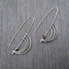 Orbit earrings. $52.00, via Etsy.