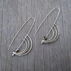 Orbit earrings. $52.00, via Etsy.