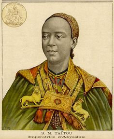 It would be unfair to finish the top 10 influential people without mentioning the contribution of Ethiopian women. The tenth most influential and the most influential woman on the modern Ethiopia was Empress Taytu Betul. The empress descended from many famous dynasties and family lines. Her uncle was the famous Dejazmach Wube Haile-Mariam of Semien. ...read more-->http://www.ethiopianreview.com/forum/viewtopic.php?t=46194=264695#p264695