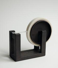 Heavy, ironware tape dispenser