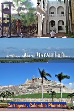 Enjoy a phototour of beautiful and historic Caribbean port of Cartagena, Colombia: forts, churches, colonial mansions, and more. South America Destinations, South America Travel, Travel Destinations, North America, Latin America, Cruise Port, Cruise Travel, Cruise Tips, Travel Guides