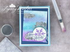 Cloud 9, Crafty Projects, Stampin Up Cards, Emboss, Seasons, Teaching, Paper, Seasons Of The Year, Education