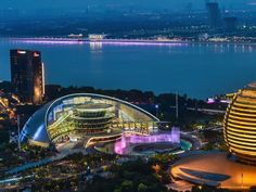 Join us to enjoy the splendid night view of  #Hangzhou, host city of #G20 summit  #video