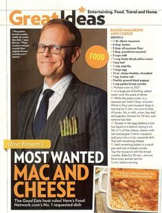 Alton Brown's Mac and Cheese